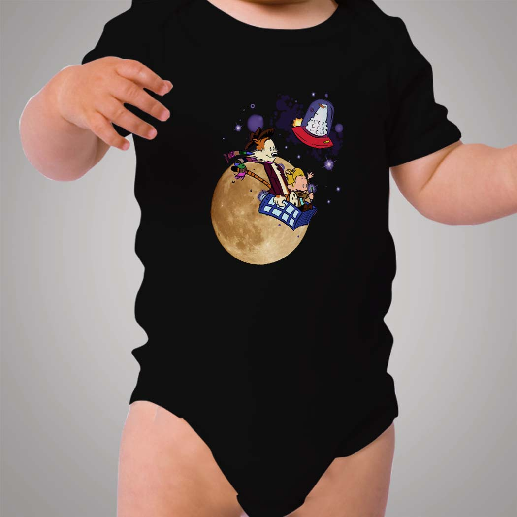 7c72e6acb Calvin and Hobbes Doctor Who Baby Onesie - Hotvero
