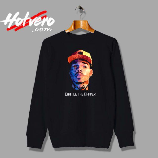 Chance The Rapper Potrait Custom Sweatshirt