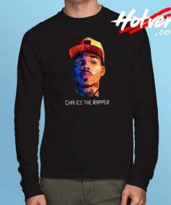 Chance The Rapper Potrait Long Sleeve T Shirt
