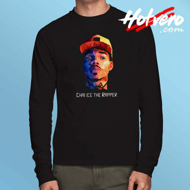 Chance The Rapper Potrait Long Sleeve T Shirt