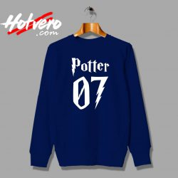 Cheap Harry Potter 07 Number Custom Sweatshirt