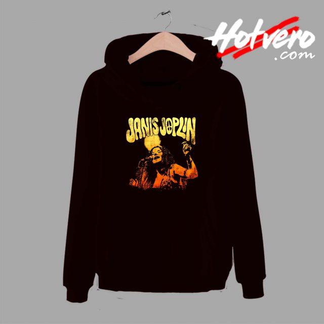 Cheap Janis Joplin Live Unisex Hoodie