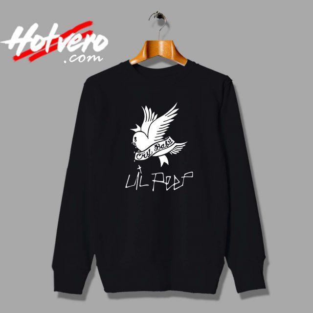 Cheap SMZY Lil Peep Cry Baby Custom Sweatshirt
