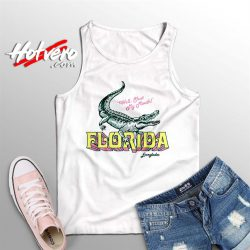 Cheap Sassy Florida Gator Summer Tank Top