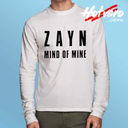 Cheap Zayn Malik Mind Of Mine Long Sleeve T Shirt