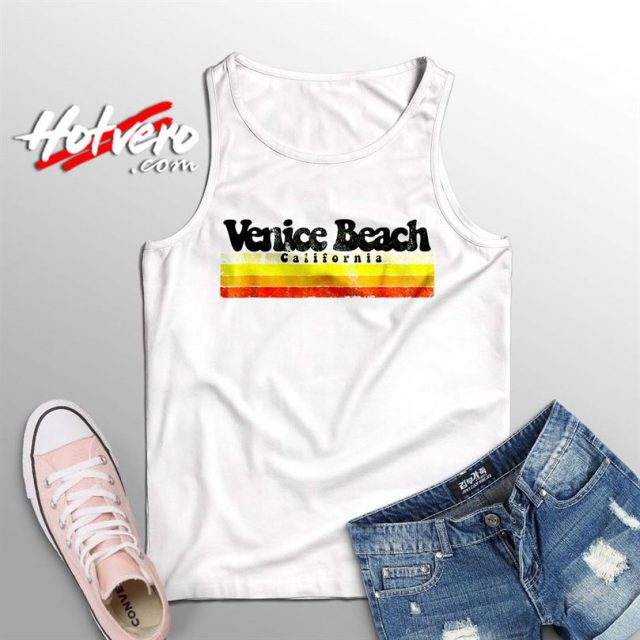 Classic Venice Beach California Summer Tank Top