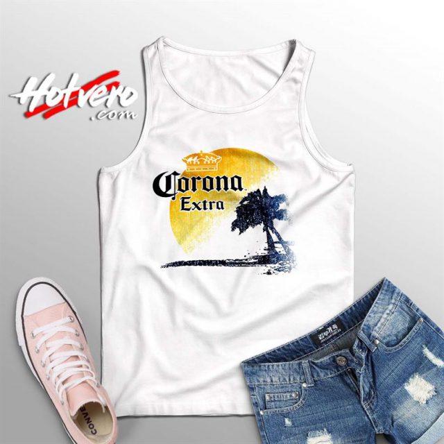 Corona Extra Beer Palm Beach Summer Tank Top