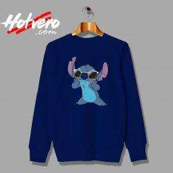Cute Disney Lilo Stitch Sunglasses Custom Sweatshirt