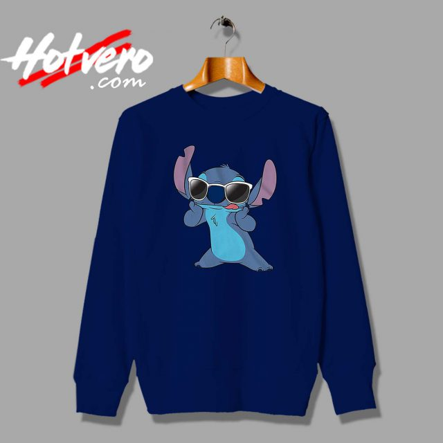 Cute Disney Lilo Stitch Sunglasses Custom Sweatshirt