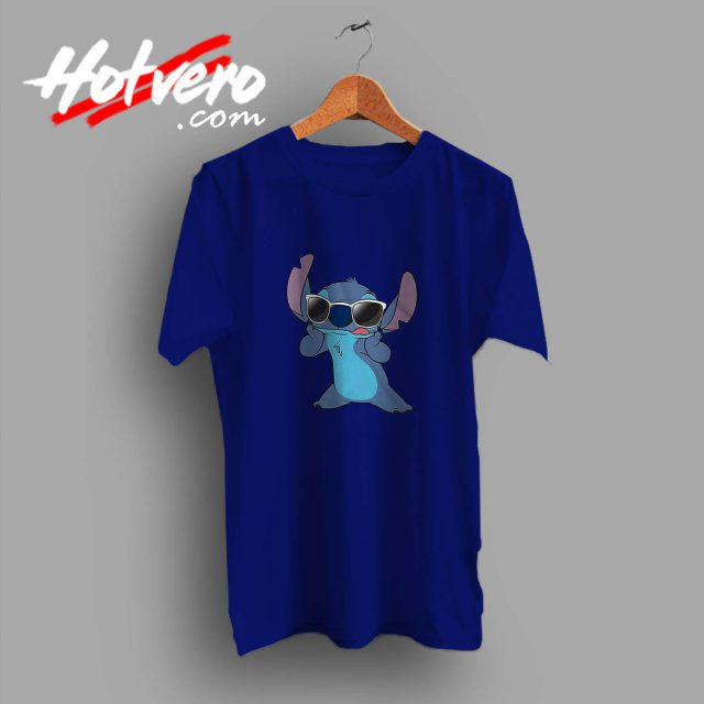 Cute Disney Lilo Stitch Sunglasses Custom T Shirt