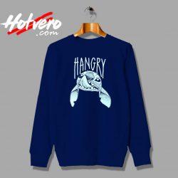 Cute Lilo Stitch Hangry Custom Sweatshirt