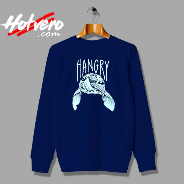 Cute Lilo Stitch Hangry Custom Sweatshirt