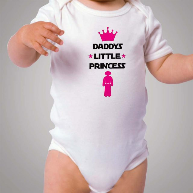 Daddys Little Princess Star Wars Baby Onesie