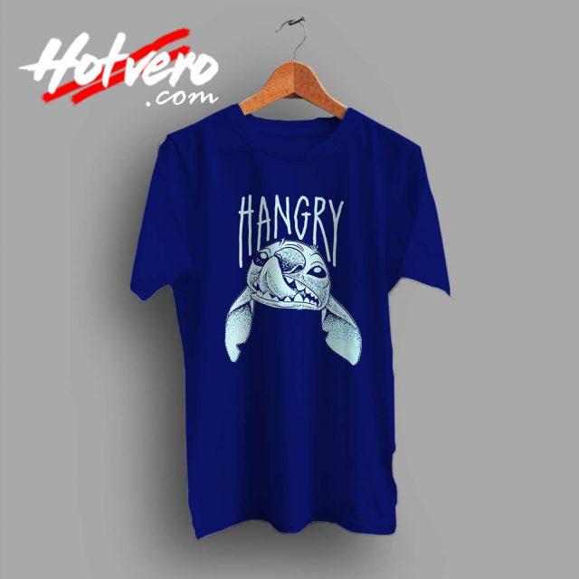 Disney Lilo Stitch Hangry Custom T Shirt