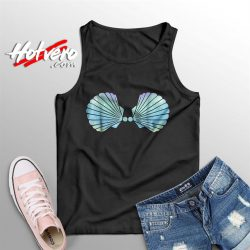 Disney Little Mermaid Shell Summer Tank Top