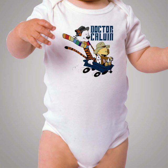 Doctor Calvin Hobbes Baby Onesie