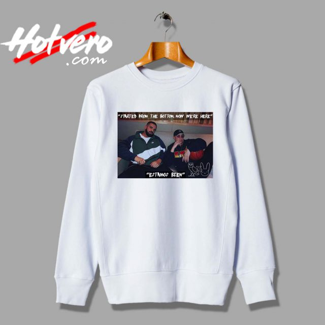 Drake X Bad Bunny Hip Hop Collabs Custom Sweatshirt