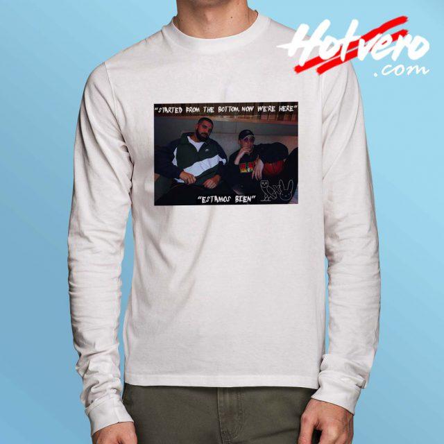 Drake X Bad Bunny Hip Hop Collabs Long Sleeve T Shirt