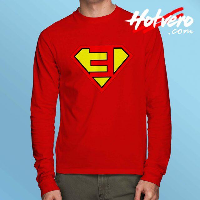 Eminem Superman Symbol Long Sleeve T Shirt