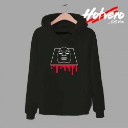 Face Off Blody Graphic Streetwear Unisex Hoodie