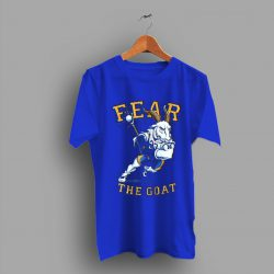 Football College Fear The Goat T Shirt