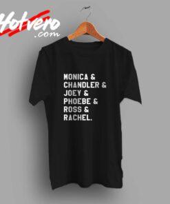Friends TV Show All Character Custom T Shirt