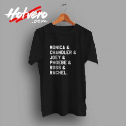 Friends TV Show All Character Custom T Shirt