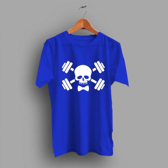 Functional Fitness Skull Barbell T Shirt