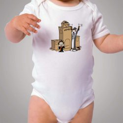 Funny Calvin and Hobbes Harry Potter Baby Onesie