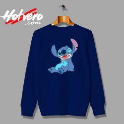 Funny Disney Lilo Stitch Winky Wink Custom Sweatshirt