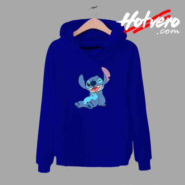 Funny Disney Lilo Stitch Winky Wink Unisex Hoodie