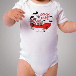 Gonzo Duke Calvin Hobbes Parody Baby Onesie