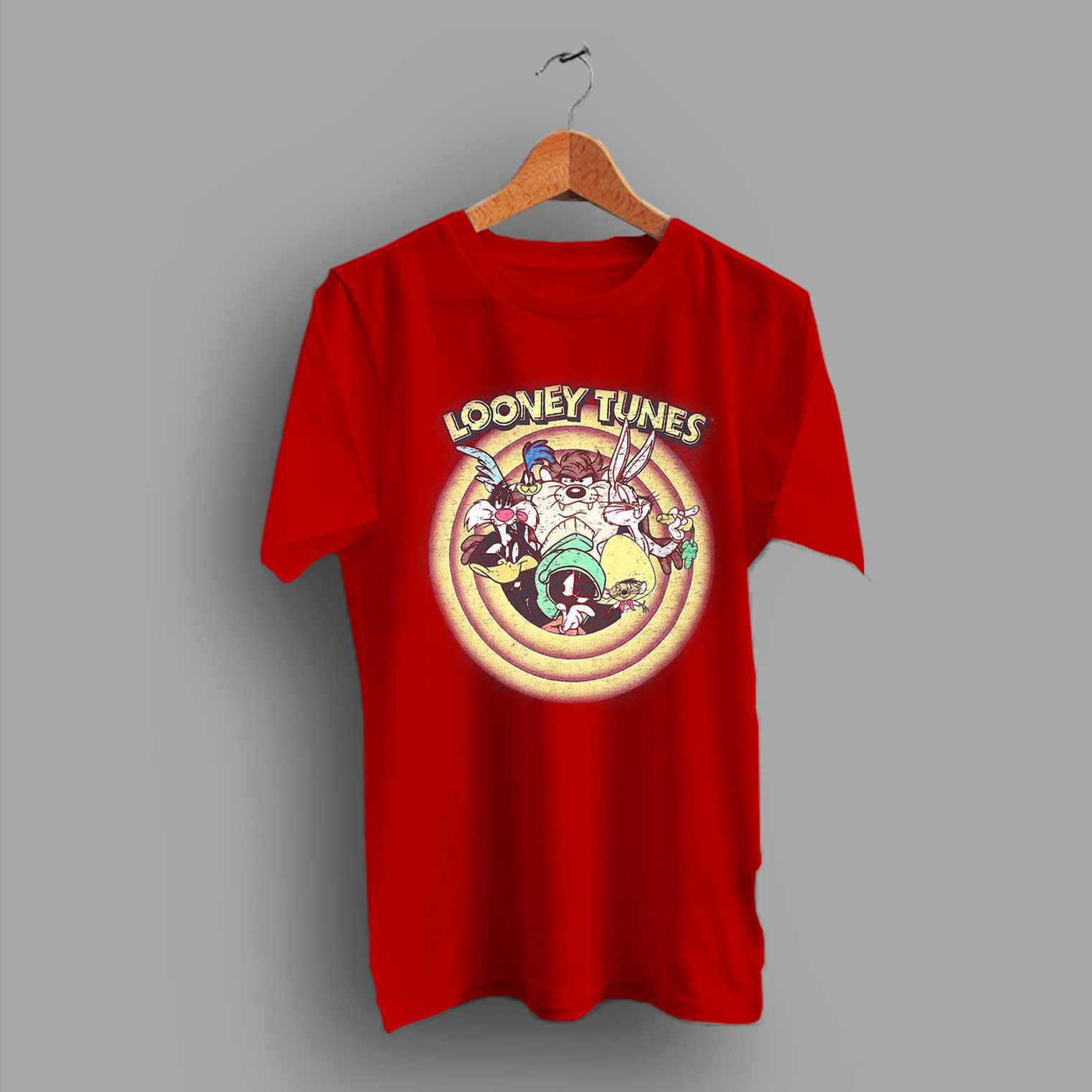 e576d015a Graphic Tee Vintage 90s Style Looney Tunes T Shirt - HotVero