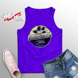 Guy Harvey Tuna Boat Summer Tank Top