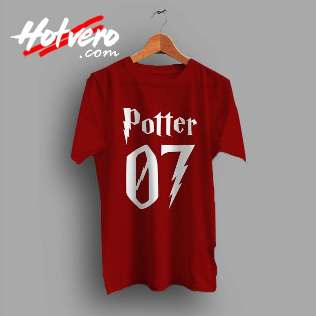 Harry Potter 07 Number Custom T Shirt