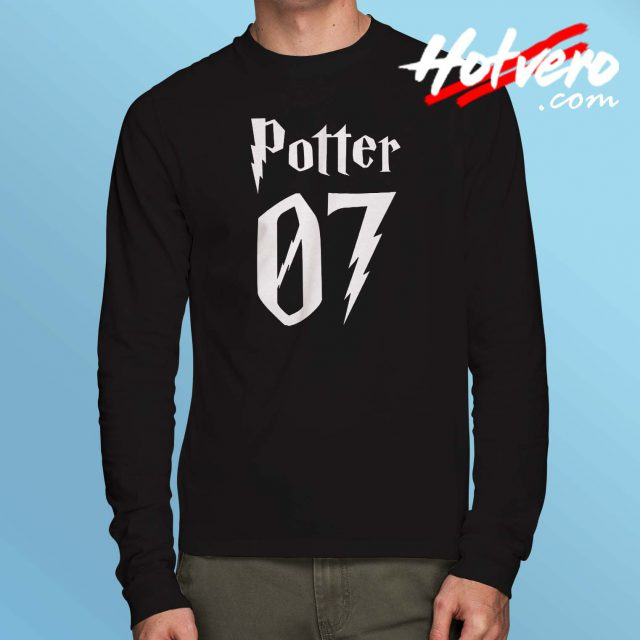 Harry Potter 07 Number Long Sleeve T Shirt