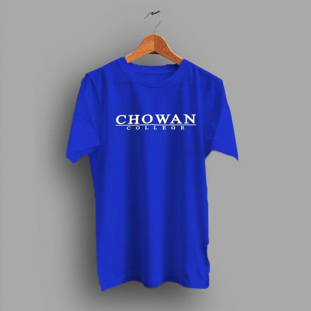 Hawks North Carolina University USA Made Grad Chowan College T Shirt