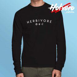 Herbivore Vegan Meaning Long Sleeve T Shirt