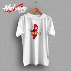 Hip Hop Travis Scott Bear Custom T Shirt