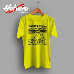 Hoverboard Champion Hill Valley Custom T Shirt