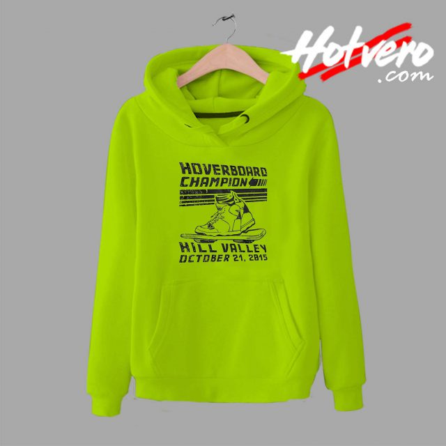 Hoverboard Champion Hill Valley Unisex Hoodie