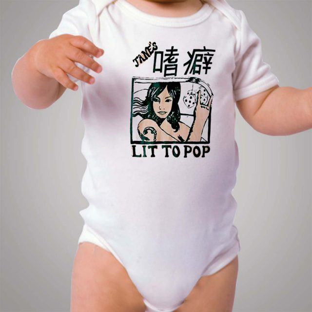 Kanye West Outfit Lit To Pop Baby Onesie