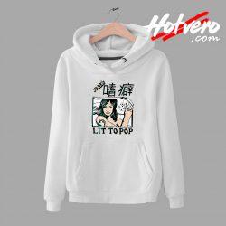 Kanye West Outfit Lit To Pop Unisex Hoodie