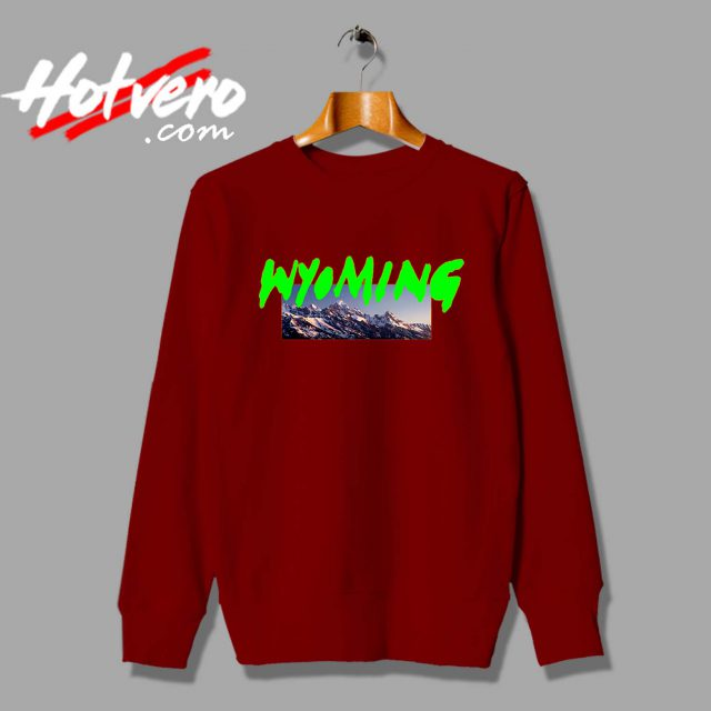 Kanye West Outfit Wyoming Custom Sweatshirt