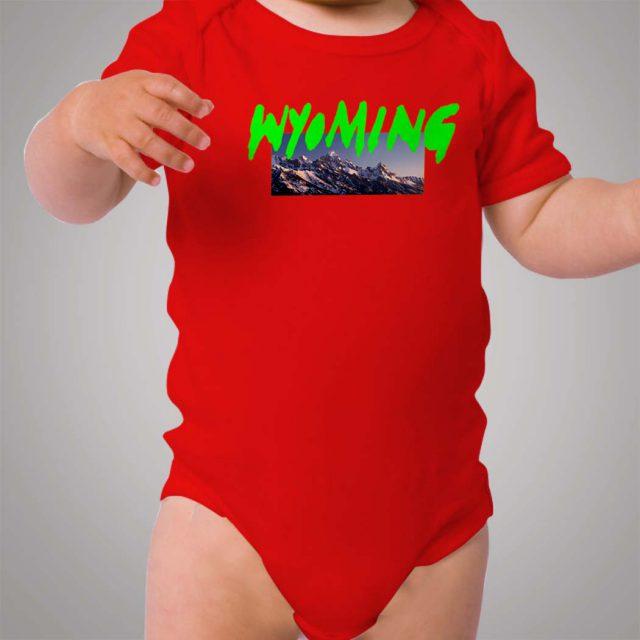 Kanye West Wyoming Baby Onesie