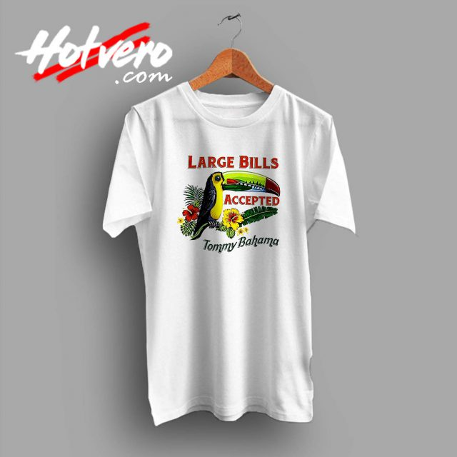 Large Bills Tommy Bahama Custom T Shirt