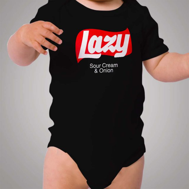 Lazy Sour Cream And Onion Baby Onesie