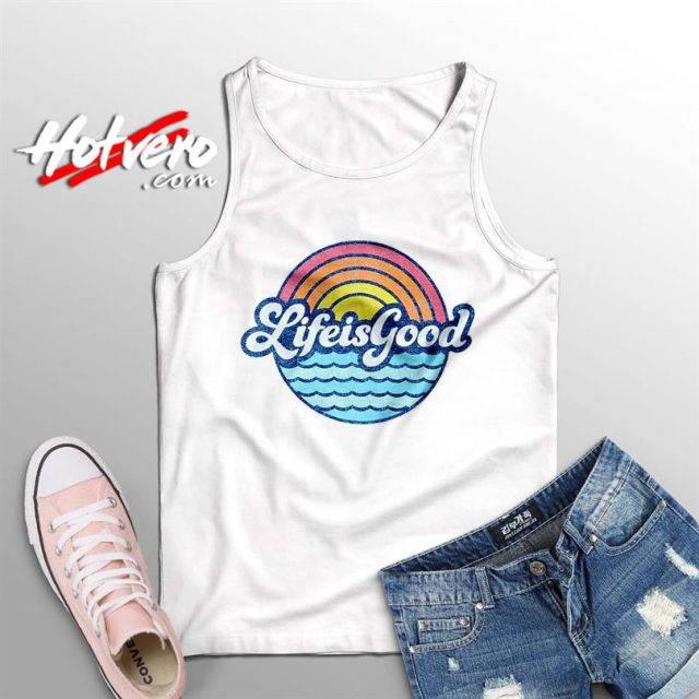Life Is Food Sunny Beach Summer Tank Top