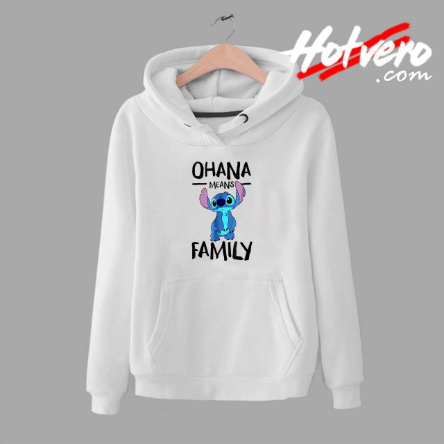Lillo Stitch Ohana Means Family Unisex Hoodie