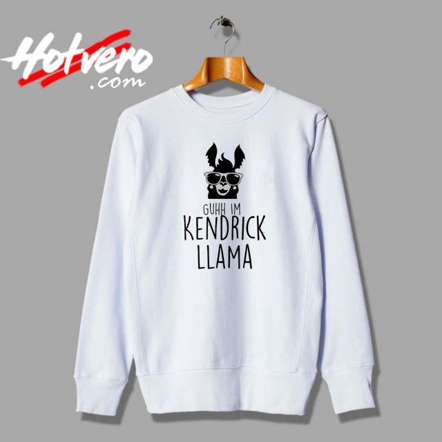 Llama Alpaca Kendrick Lamar Parody Custom Sweatshirt